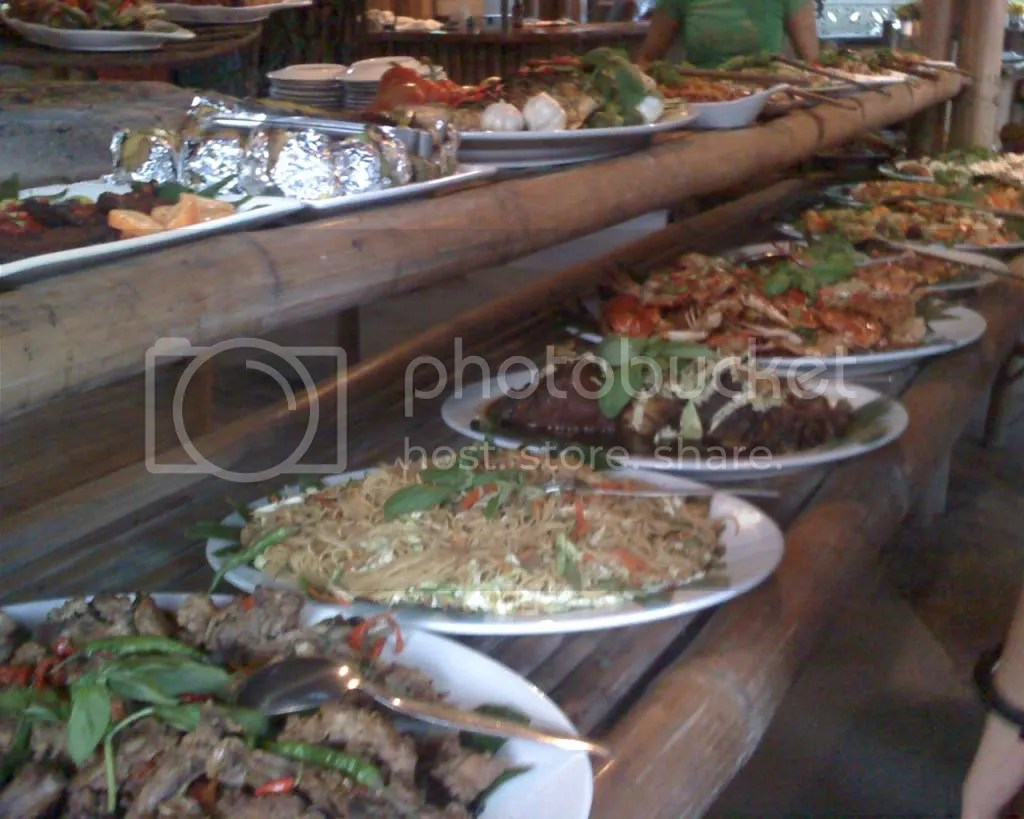 Buffet at D Jungle Grill Restaurant