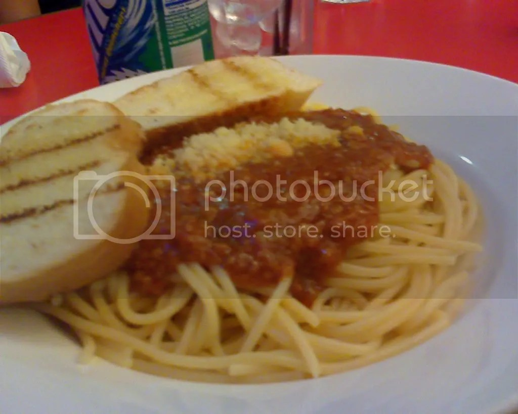 paghetti with Meat Sauce