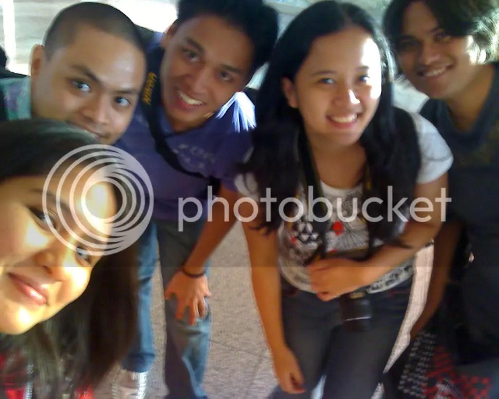 Me, Ruel, Tanja, Gail and Joms in Iloilo