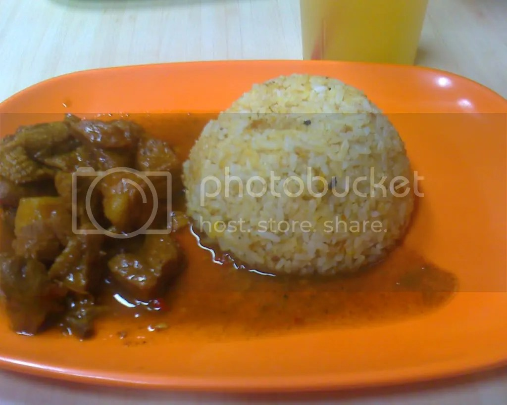 Chicken and Pork Adobo Diablo with Adobo Rice