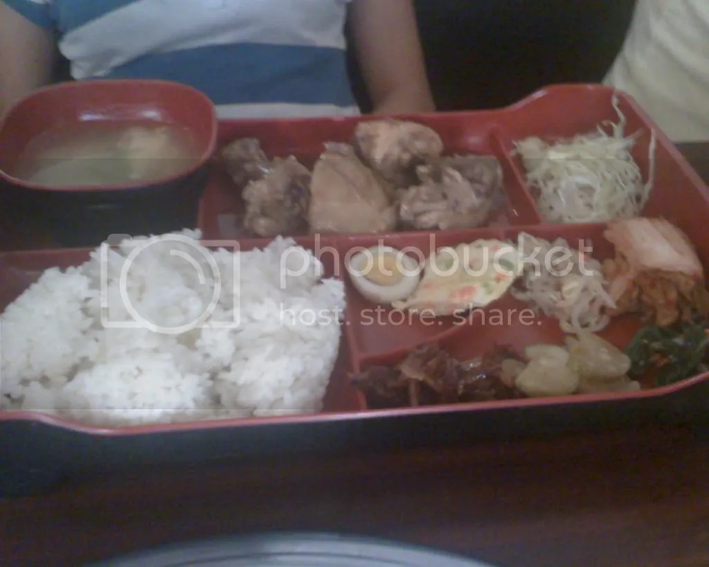 Chicken Bento Meal