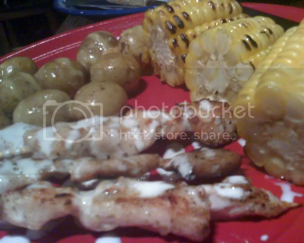 Grilled Chicken with Sour Cream