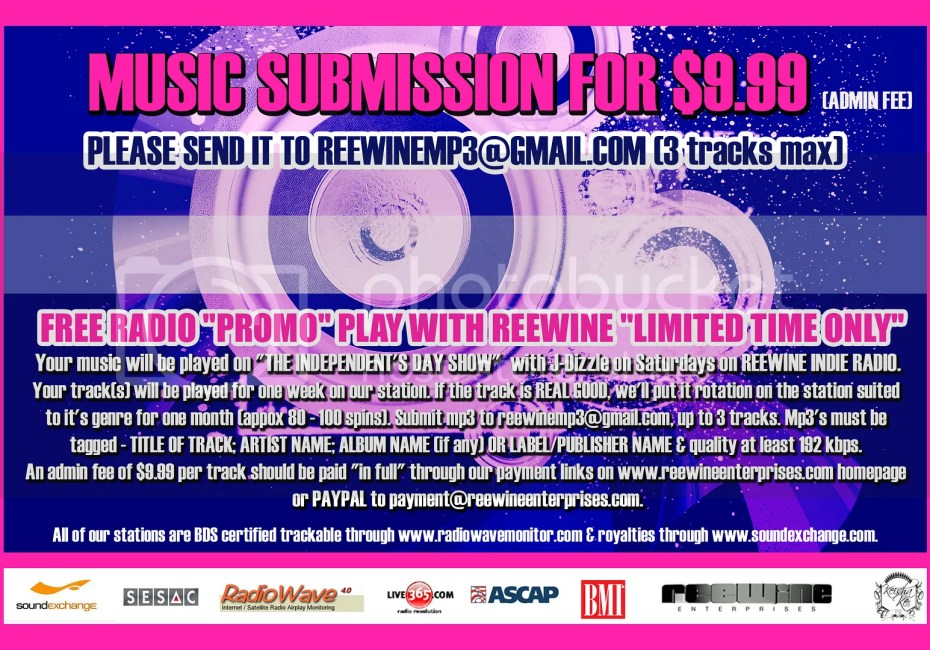 Reewine presents Music Submissions for $9.99