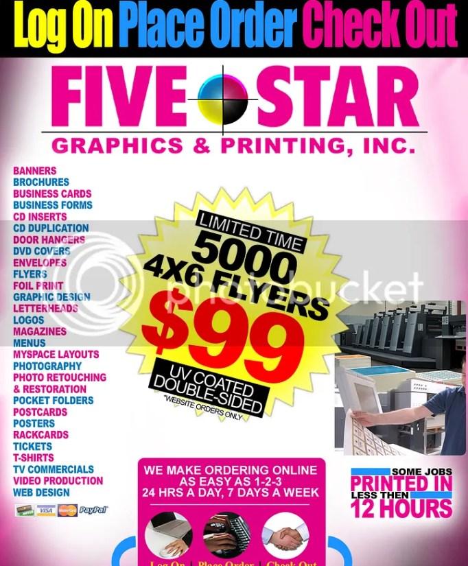 Reewine presents Five Star Graphics