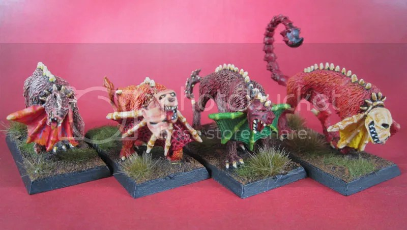 Realm of Chaos, Oldhammer Warhammer Flesh Hounds