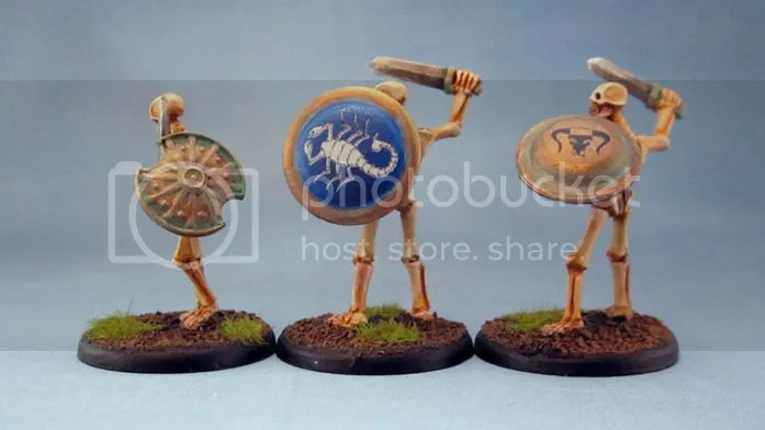 Wargames Foundry Greek Mythology Skeletons