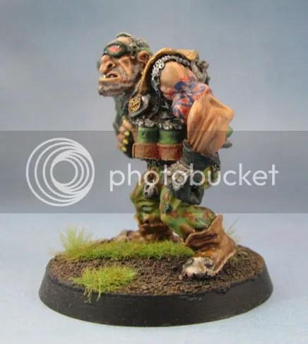 Oldhammer Ogryn Rogue Trader