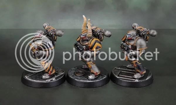 Assassinorum: Execution Force Chaos Space Marines, Iron Warriors.