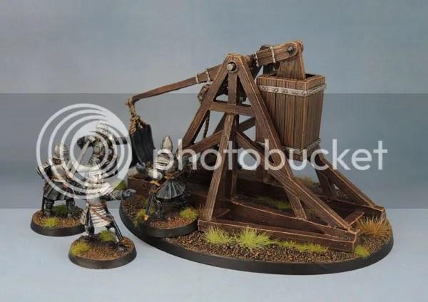 Citadel Gondor Battlecry Trebuchet with Crew