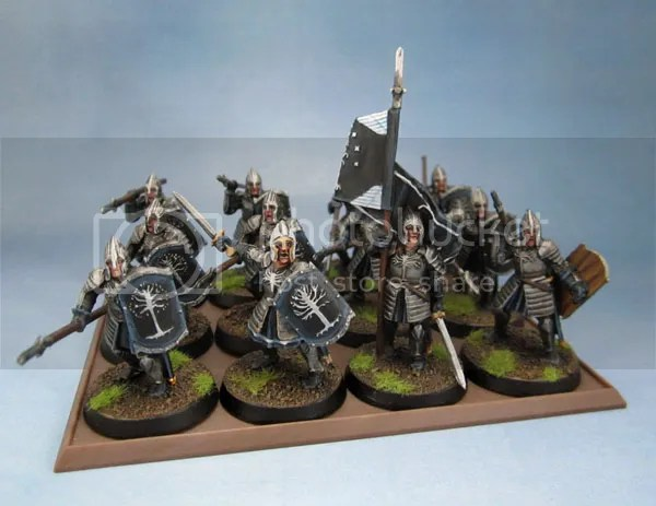 Citadel Miniatures Warriors of Minas Tirith Spearmen