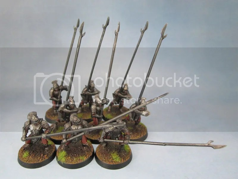 Games Workshop Citadel Miniatures Uruk-Hai Pikemen