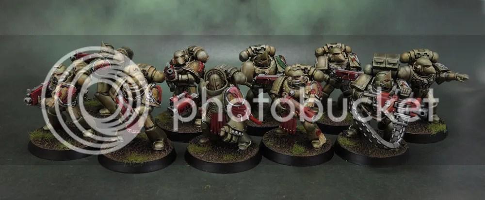 Minotaurs Space Marines - VI Squad