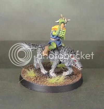 C21 Oldhammer Goblin Wolfriders Wolfboyz