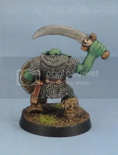 Orc with Sword 1, Oldhammer, Kev Adams