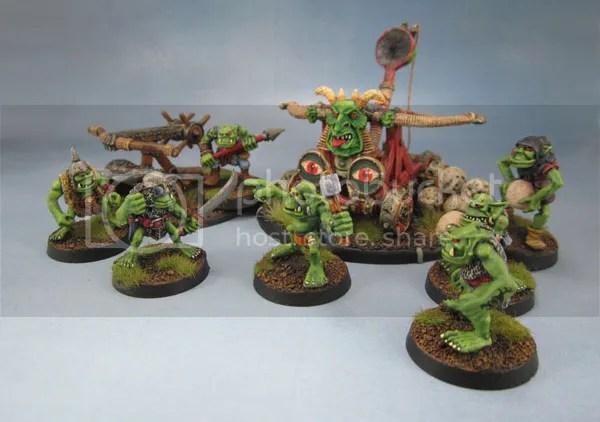 C22 Orc Bolt Thrower, Iron Claw Goblin Stone Thrower