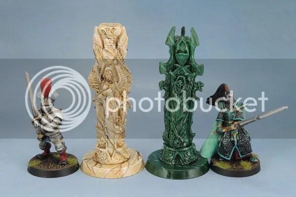 Reaper Bones 77246 Pillar of Good 77247 Pillar of Evil