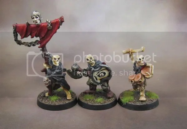 Citadel Oldhammer Skeleton Command Group