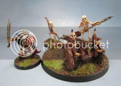 RPE Skeleton Ballista 02.190, RPE Mage Knight Metal Skeleton 541