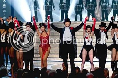 Hugh Jackman e Beyonce se apresentam durante o show do Oscar - CLIQUE PARA AMPLIAR ESTA FOTO EM BOA RESOLUÇÃO