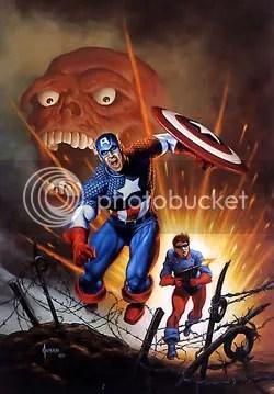 Capitão América, por Jusko - CLIQUE PARA AMPLIAR ESTA IMAGEM