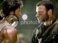 Logan e Victor Creed batem um papinho - CLIQUE PARA AMPLIAR ESTA FOTO EM BOA RESOLUÇÃO