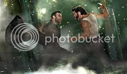 Um caso de amor entre Dente de Sabre e Wolverine - CLIQUE AQUI PARA AMPLIAR ESTA FOTO