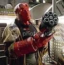 Ron Perlman é Hellboy - CLIQUE PARA AMPLIAR ESTA FOTO