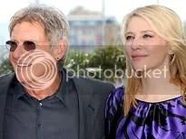 Cate Blanchett e Harrison ford - Foto de Gareth Cattermole - CLIQUE PARA AMPLIAR