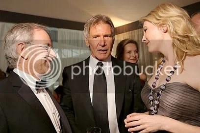 Spielberg, Ford e Kate - Foto de Kristian Dowling - CLIQUE PARA AMPLIAR