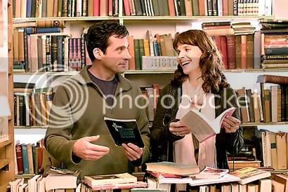Steve Carell e Juliette Binoche - CLIQUE PARA AMPLIAR ESTA FOTO