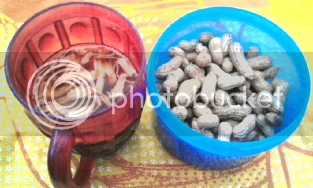 bandrek +kacang rebus 2