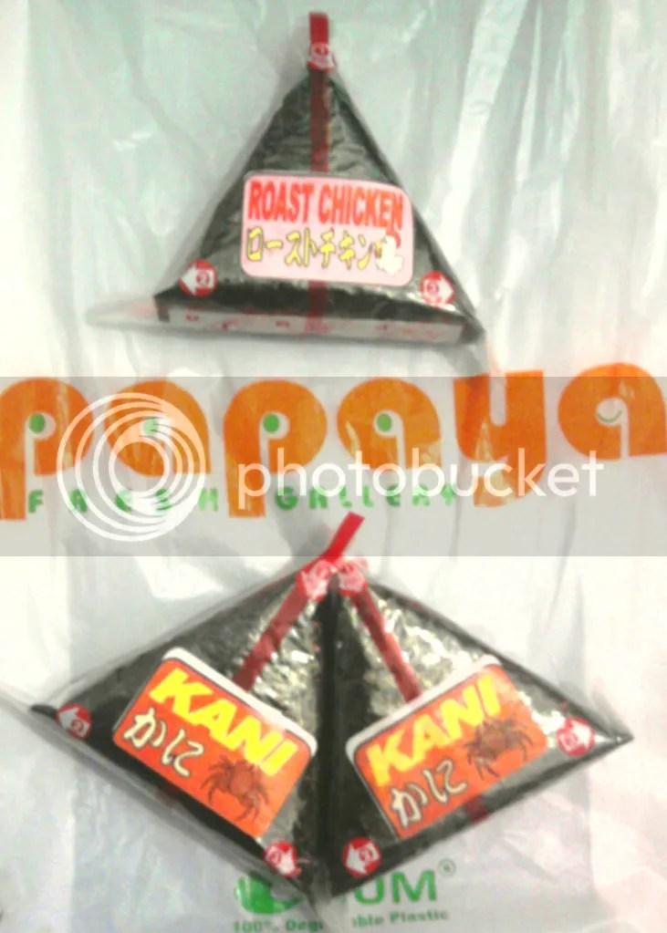 Onigiri Papaya