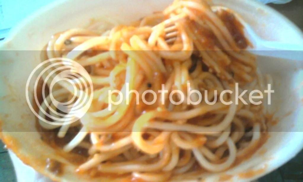Spaghetti (Rp 5500)