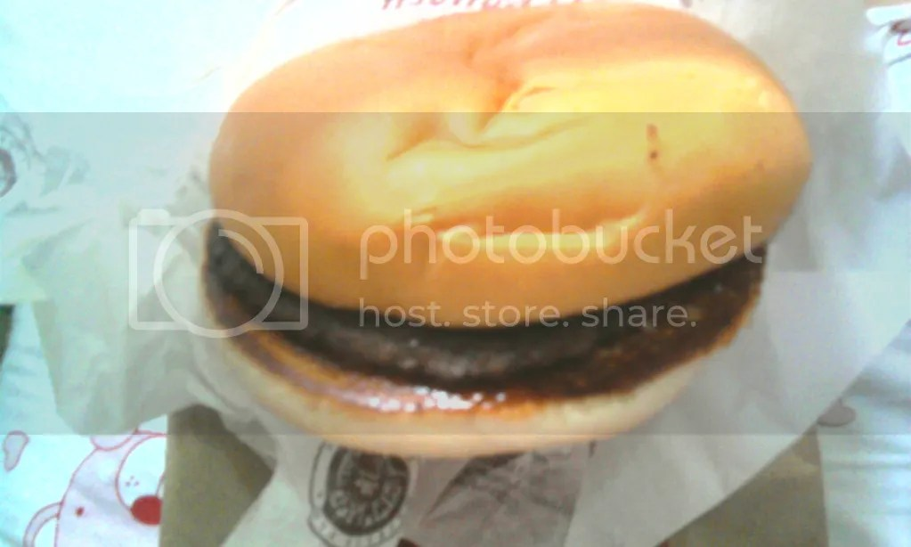 Beef Burger (Rp 9900)