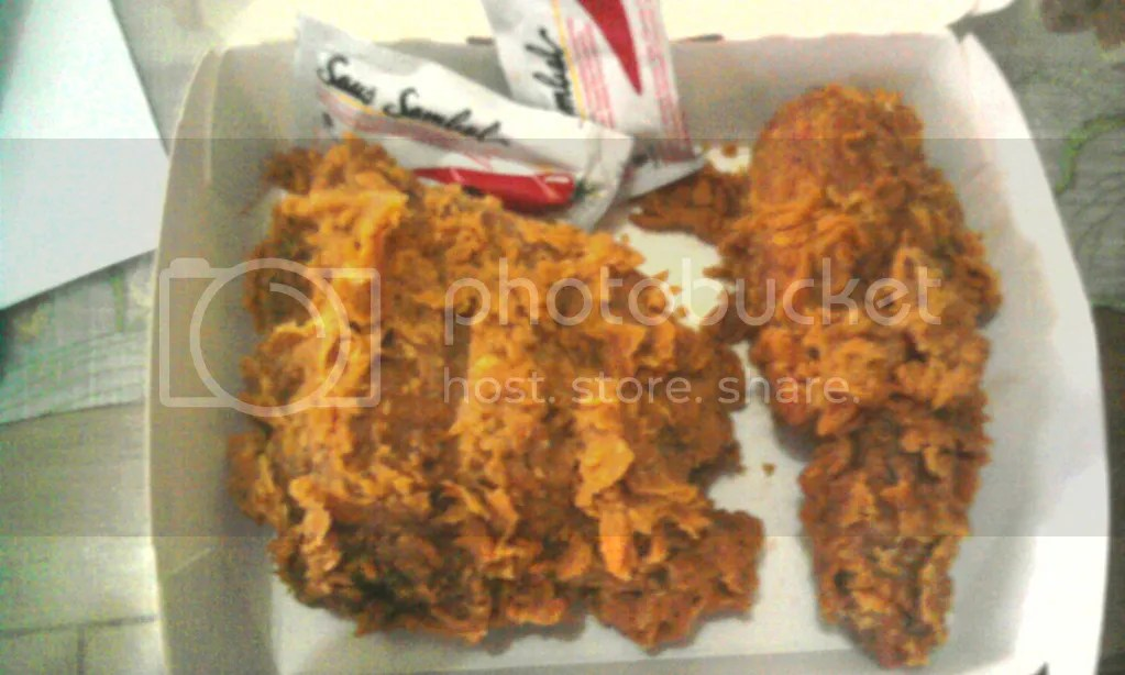 Hot Chicken 2pcs (Rp 22.000)