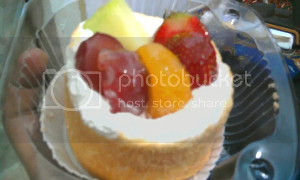 Zoom in: Mix Fruit Cheese Cake (˚—-̩̩˚)