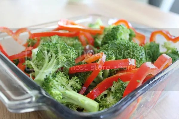 raw veggies