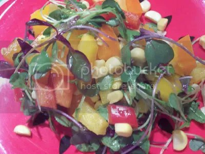 peppers,raw food,raw recipes,salad