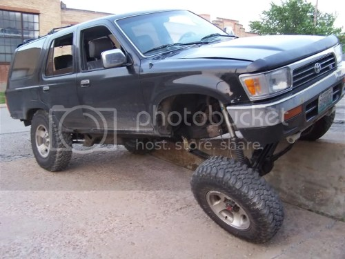 small resolution of edit pic is with rear sway bar attached and hooked up killer b s 1992 4runner 1uzfe