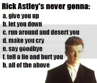 rickroll Pictures, Images and Photos