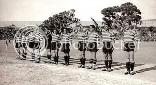 Sporting_Saudação Fascista
