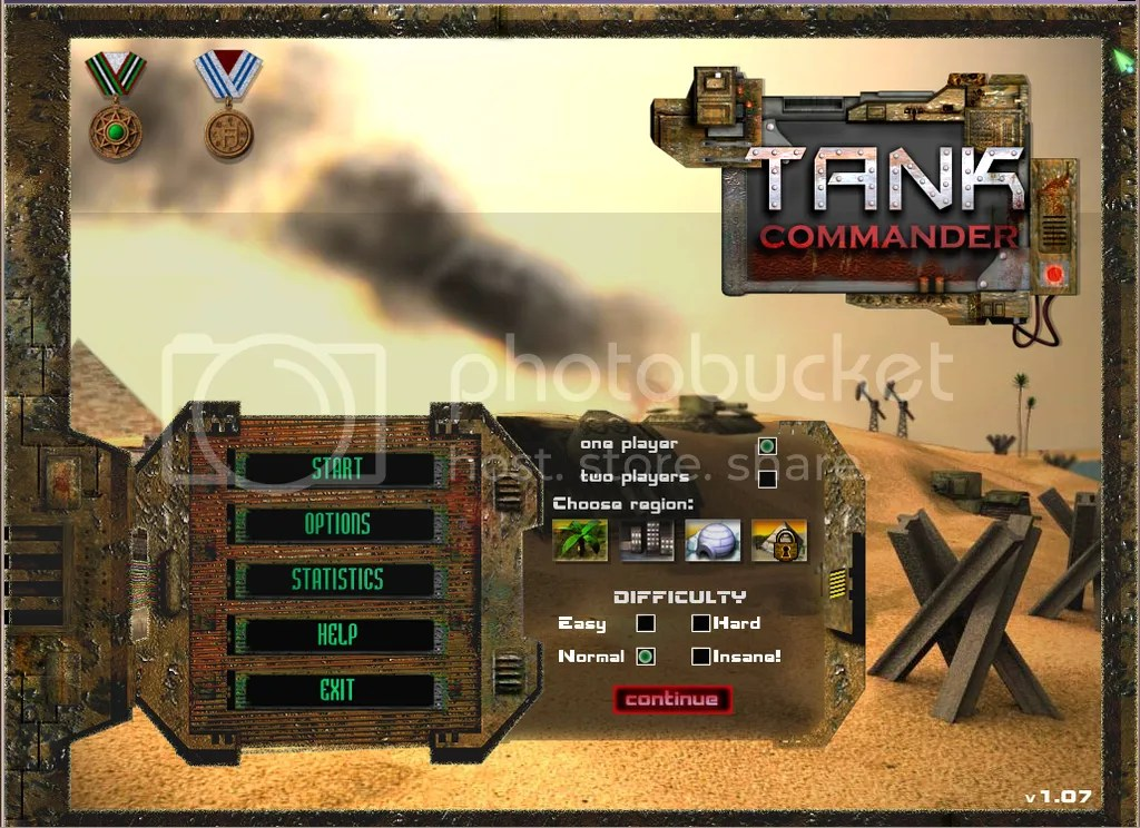 Tank Commander Intro