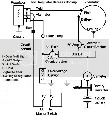 Wiring Diagram Cessna 12 Volt Alternator