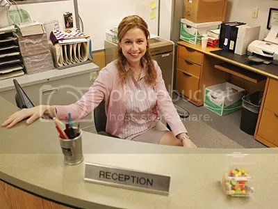 Pam, Pam, Pam!  The Office is still one of the biggest reasons to stay in on Thursday nights for me.