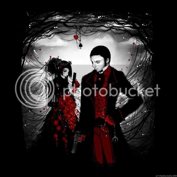 Dark Gothic Love Couples