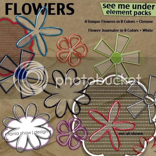 See Me Through Flowers