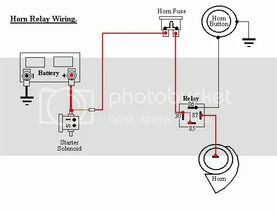 HornWire motorcycle horn wiring,horn wiring diagram images database,4 Wire Relay Harness