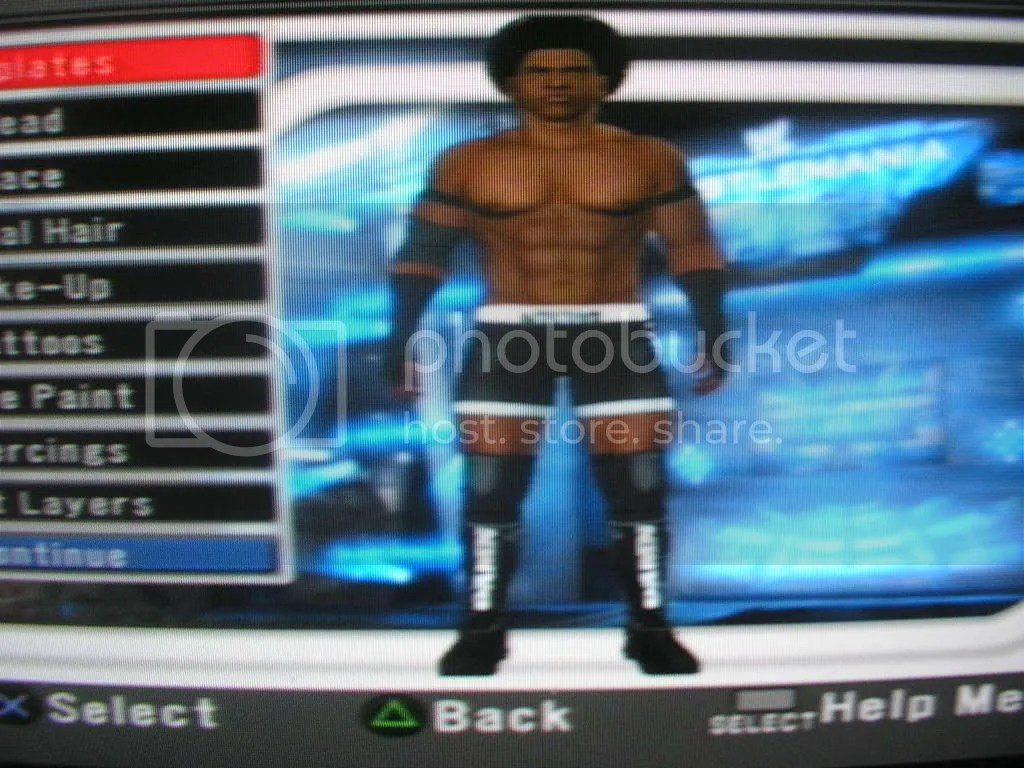 UPDATED Almost Final Matt MORGAN With Back Tattoo Amp Consequences Creed PS2PSPWii CAWsws Forum