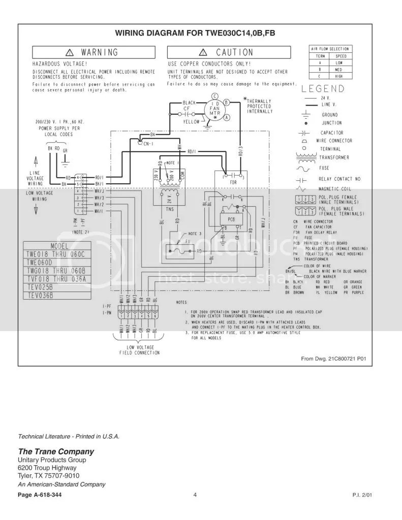 medium resolution of trane air handler wiring diagrams wiring diagram hub xr14 trane air handler diagram trane air handler diagram