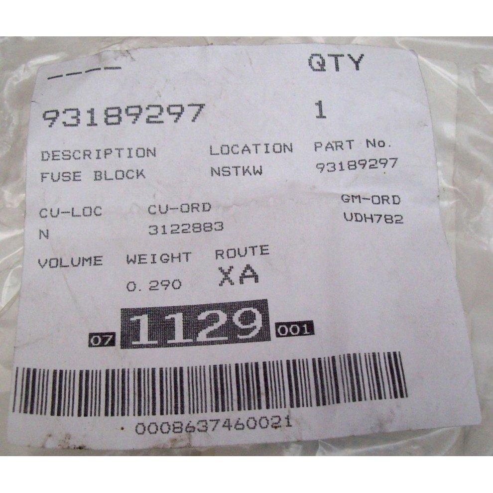 medium resolution of  vauxhall opel corsa d genuine new fuse box harness gm 93189297 2